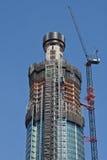 Torre del embarcadero de San Jorge bajo construcción Foto de archivo libre de regalías