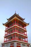 Torre del estilo chino fotografía de archivo libre de regalías