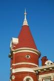 Torre del estilo de la reina Anne Imagenes de archivo