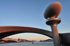 Torre del faro di navigazione Immagini Stock