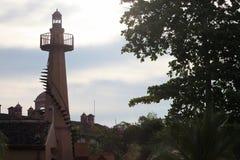 Torre del faro nel Los Suenos, Fotografia Stock Libera da Diritti