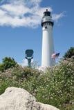 Torre del faro, Racine, WI Imagen de archivo