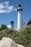 Torre del faro, Racine, WI Fotos de archivo