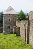 Torre del fortalecimiento en Levoca, Eslovaquia Foto de archivo