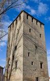 Torre del francese (1230). Strasburgo, Francia Fotografie Stock