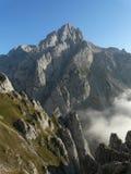 Torre del friero en picos de europa photographie stock