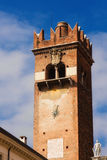 Torre del Gardello and Palazzo Maffei, Verona Stock Photo