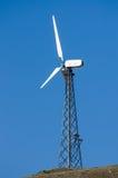 Torre del generatore eolico Immagine Stock