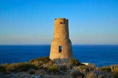 Torre del Gerro πύργος σε Denia της Αλικάντε στοκ εικόνες με δικαίωμα ελεύθερης χρήσης