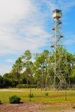 Torre del guardabosques del fuego Fotografía de archivo