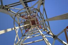 Torre del hierro de arriba Imagen de archivo libre de regalías