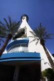 Torre del hotel de la estratosfera Imágenes de archivo libres de regalías