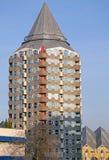 Torre del lápiz en Rotterdam, Países Bajos Fotos de archivo libres de regalías