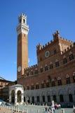 Torre del Mangia à Sienne, Italie Photo libre de droits
