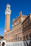 Torre del Mangia Royalty Free Stock Photos