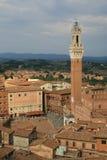 Torre del Mangia Photo libre de droits