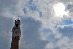 Torre Del Mangia lizenzfreies stockbild