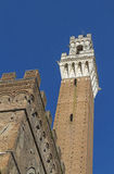 Torre del Mangia Royalty Free Stock Photography