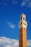Torre del Mangia (Siena) Fotografia Stock