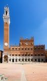 Torre del Mangia SIena Royalty Free Stock Photos