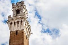 Torre del Mangia, Siena Stock Image