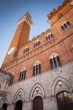 Torre Del Mangia, Siena, Tuscany, Italy Stock Image
