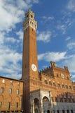 The Torre del Mangia. Siena (Tuscany, Italy) Stock Photo