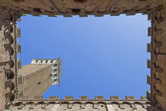 Torre del Mangia Stock Photography