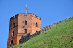 Torre del mattone rosso Fotografia Stock Libera da Diritti