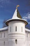 Torre del monasterio de Andronnikov Foto de archivo libre de regalías