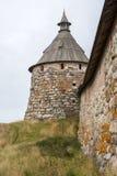 Torre del monastero Fotografia Stock Libera da Diritti