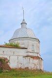 Torre del noroeste del monasterio de Goritsky de Dormition en Pereslavl-Zalessky, Rusia Imagen de archivo