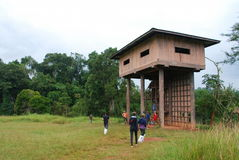 Torre del observatorio Imagenes de archivo