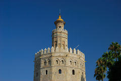 Torre del Oro Royalty Free Stock Photos