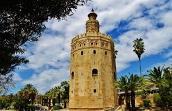 Torre del Oro Stock Afbeelding