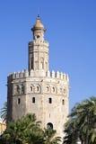Torre del Oro Fotos de archivo libres de regalías