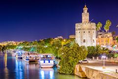 Torre del Oro Photo stock