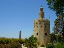 Torre del Oro 库存图片