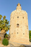 Torre del Oro Royalty Free Stock Photography