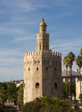 Torre del Oro - Gold Tower. Seville, Andalusia, Spain Stock Photography