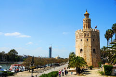 Torre del Oro Stock Photography