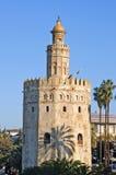 Torre del Oro, Sevilha Imagens de Stock Royalty Free
