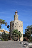 Torre del Oro, Sevilha Spain Imagem de Stock Royalty Free