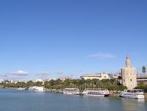 TORRE DEL ORO - SEVILHA - SPAIN Fotografia de Stock Royalty Free