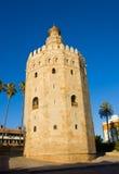 Torre del Oro, Sevilla, Spain. Torre del Oro - golden tower, Sevilla, Spain stock photography