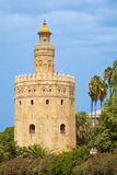 Torre del Oro. Sevilla, Spain Royalty Free Stock Photography