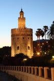 torre del oro seville Испании Стоковое Изображение RF
