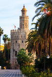 Torre del Oro. Seville Stock Photos