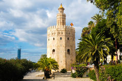 Torre del Oro. In Seville, Andalusia, Spain Stock Photo