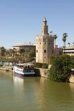 Torre del Oro, Seville, Spain Stock Images
